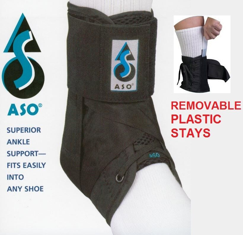 aso speed lacer ankle brace instructions