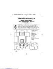 meade capture view binoculars instructions