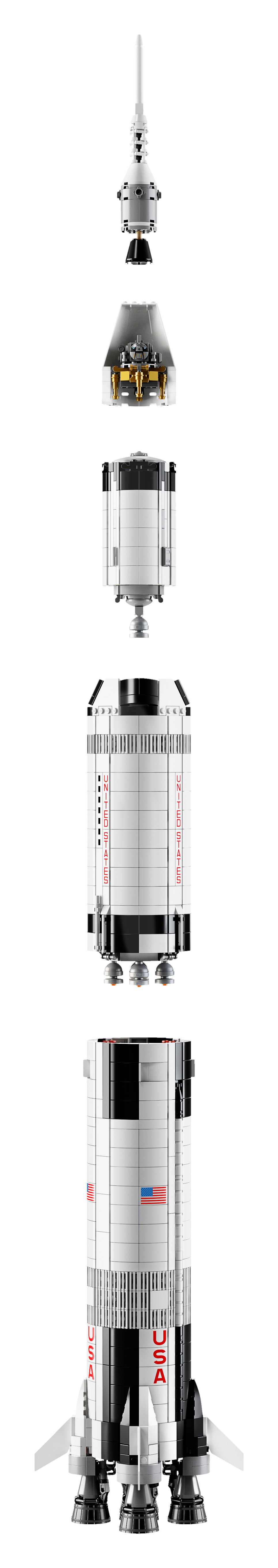 lego apollo rocket instructions