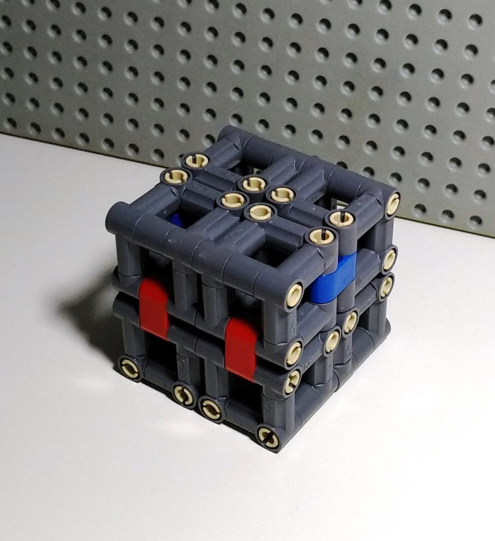 lego folding cube instructions