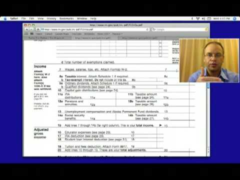 federal income tax form 1040 instructions 2012