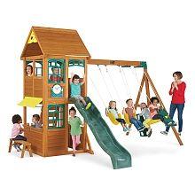 big backyard premium collection charleston lodge wood swing set instructions