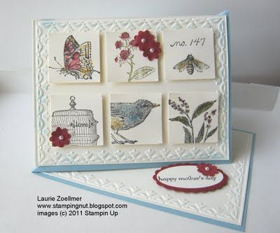 bird cards easel cards instructions