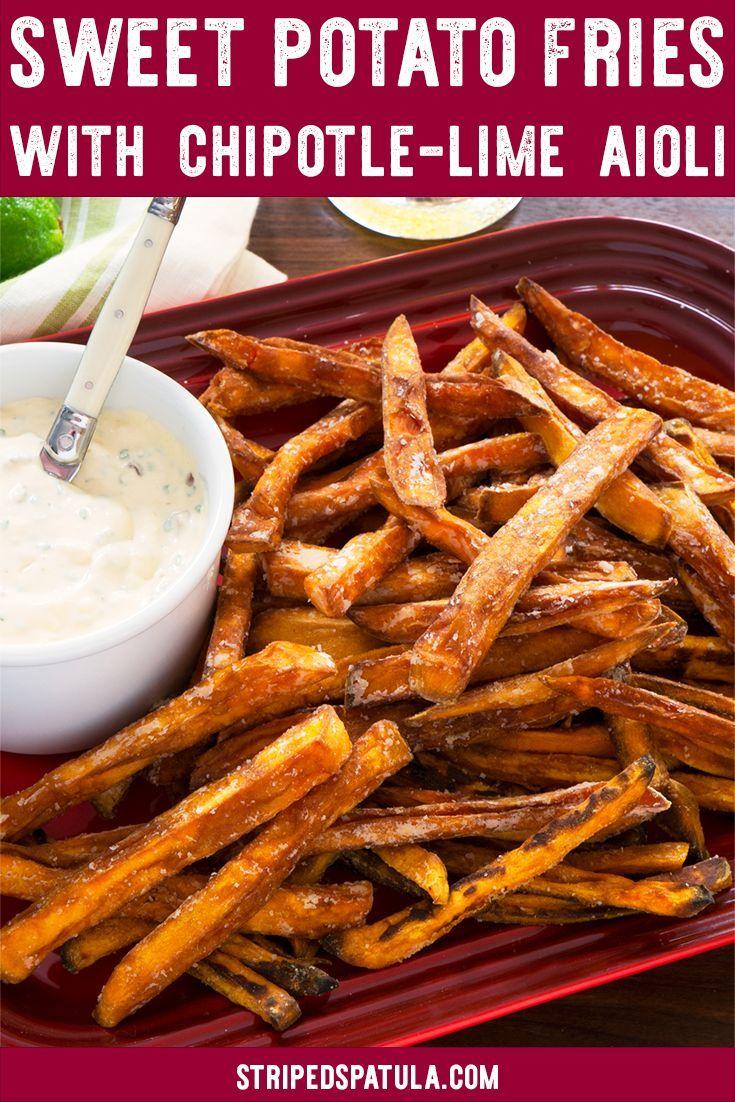 instructions for baking homemade sweet potato fries