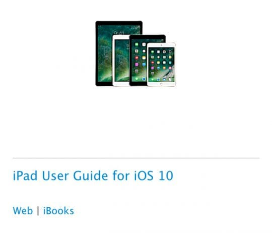 ipad instruction manual uk