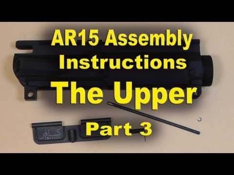 ar 15 upper assembly instructions