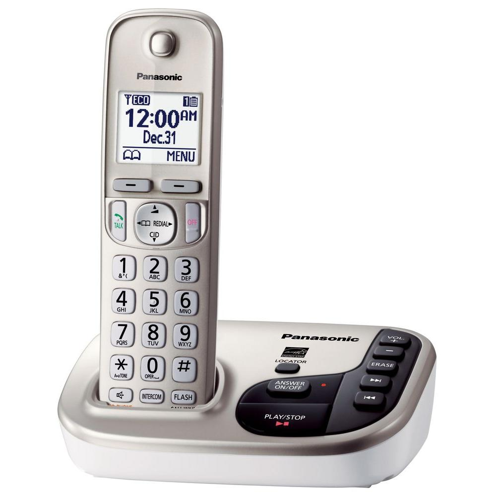 panasonic 2 line corded phone instructions