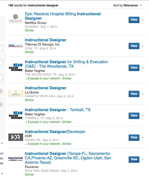 canaada instructional designer jobs