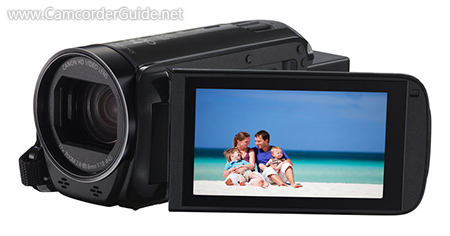 canon hd vixia hf r200 instruction manual