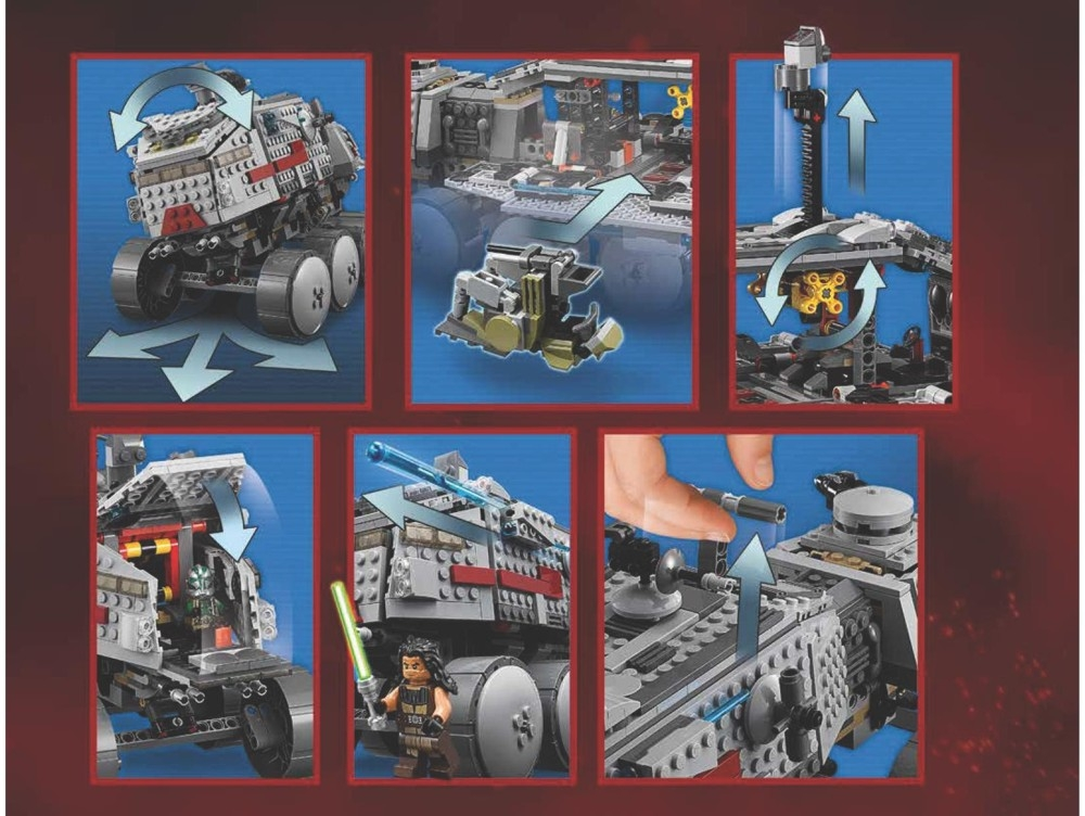 clone turbo tank lego 2016 instructions