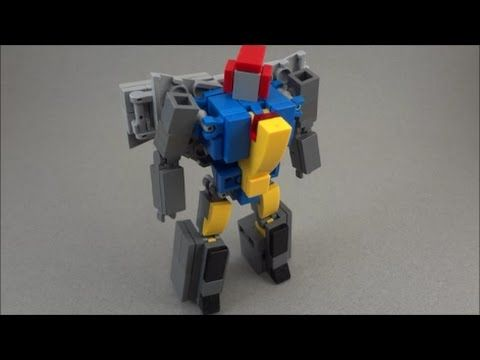 custom lego transformers instructions