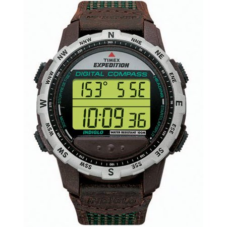 digital timex watch instructions