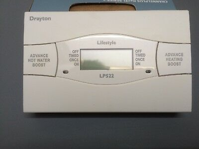 drayton central heating timer instructions