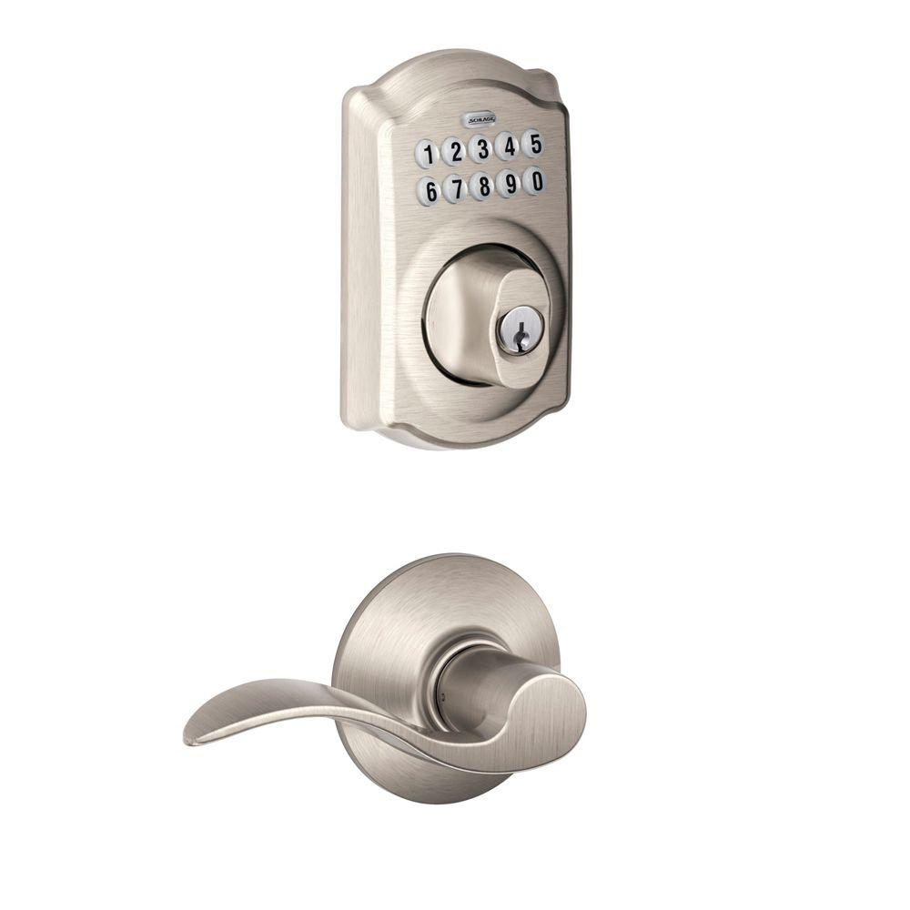 schlage electronic combo lock instructions