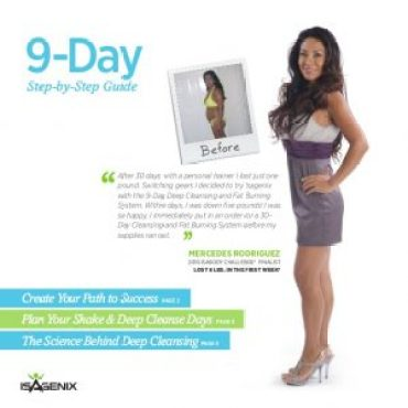 isagenix weight loss instructions pdf