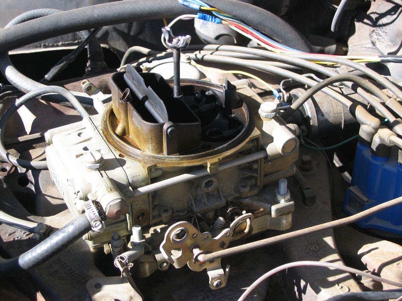 edelbrock carb 1406 installation instructions