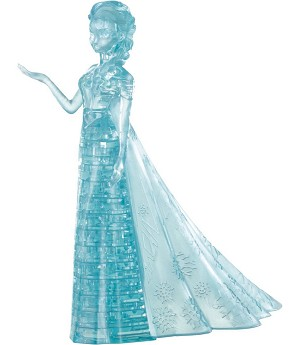 elsa 3d crystal puzzle instructions