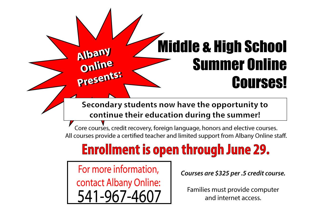 enrollment instructions 2017-18