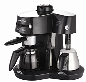 morphy richards mister cappuccino espresso instructions