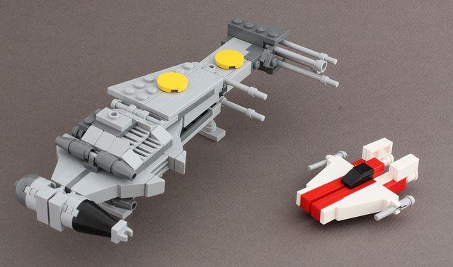 titans creations millenium falcon instructions