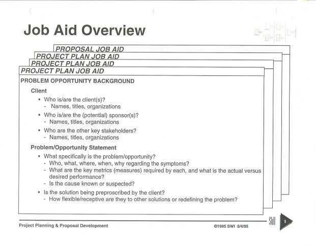 instructions for interviewer plan for an observer who will