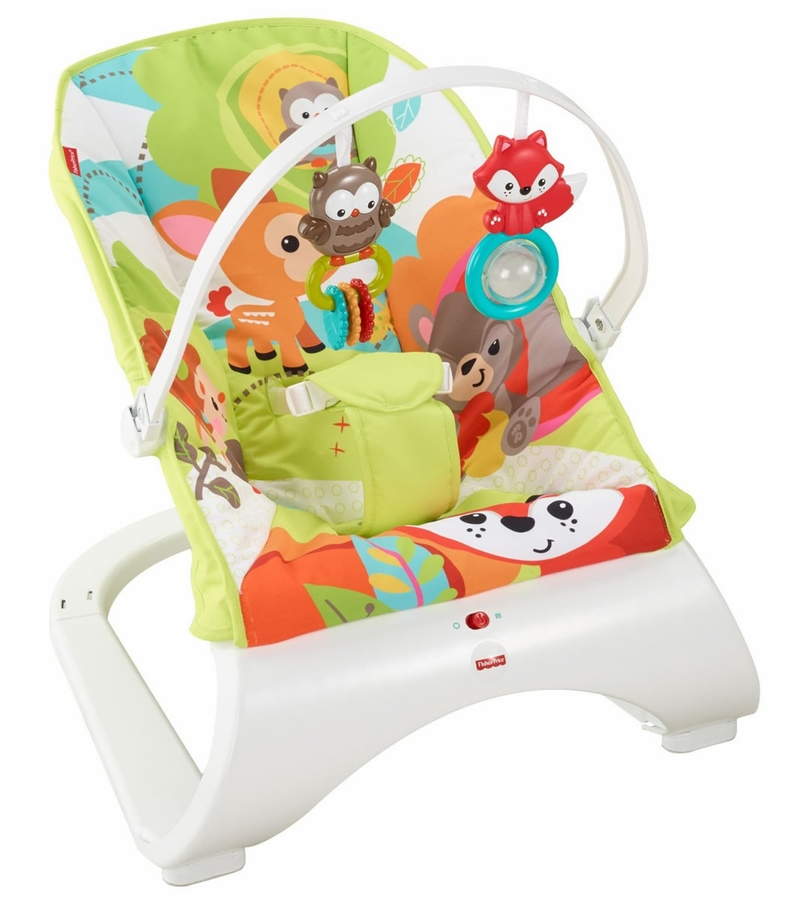fisher-price rainforest deluxe baby bouncer instructions