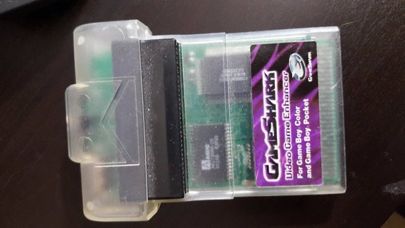 gameshark gameboy color instructions