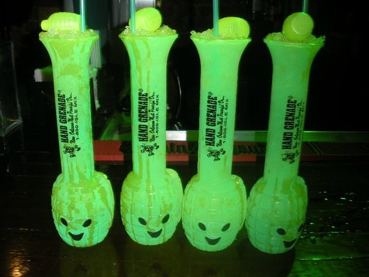 hand grenade mix instructions