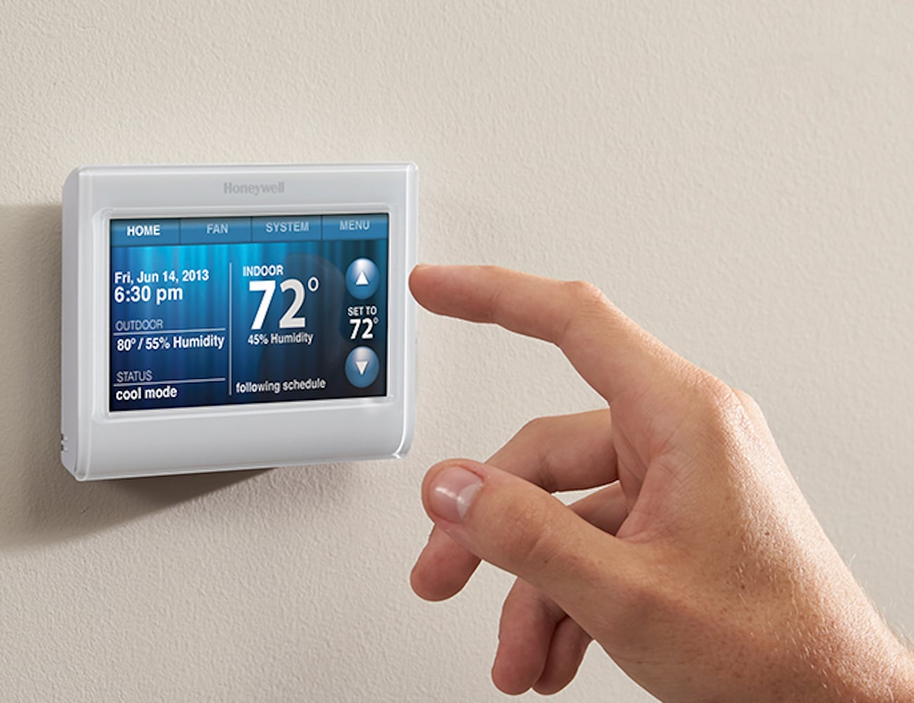 honeywell wireless programmable thermostat instructions