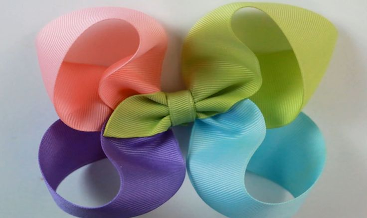 how to make hair bows for girls free instructions