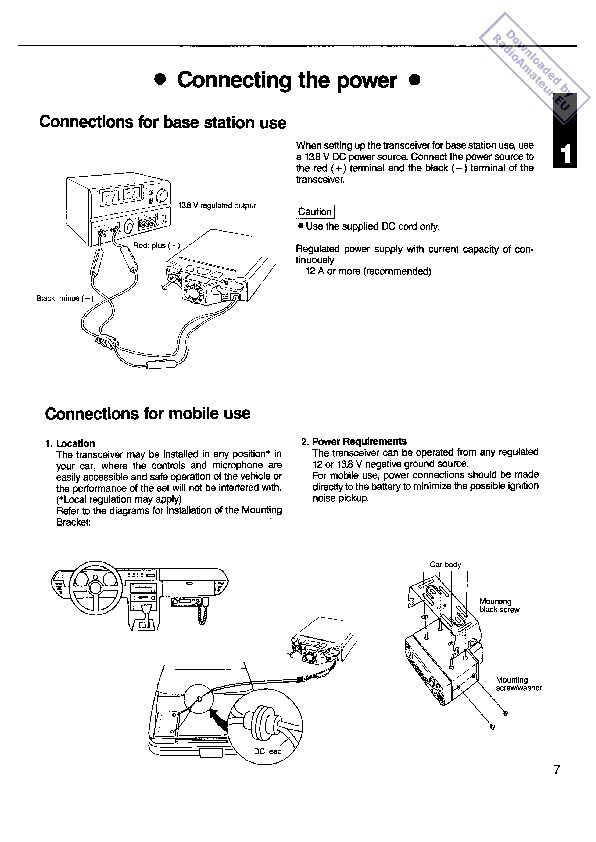 instruction manuals for every electronic