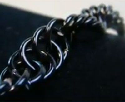 interlocked spiral chainmaille instructions