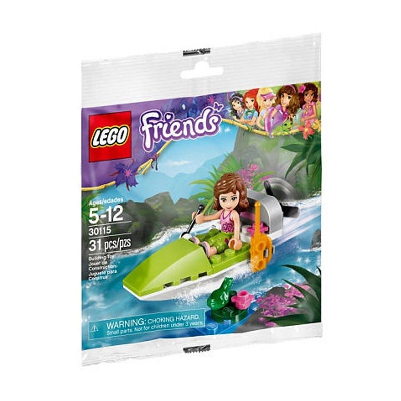 lego friends jungle boat instructions