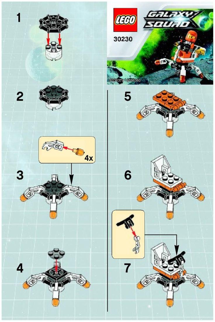 lego mini glock instructions