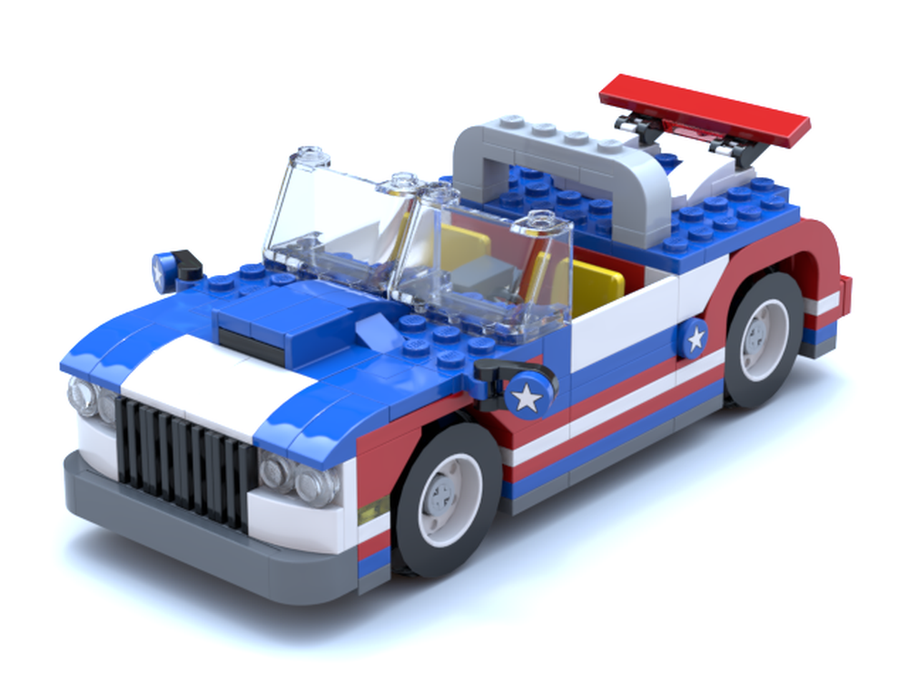 lego muscle car building instructions