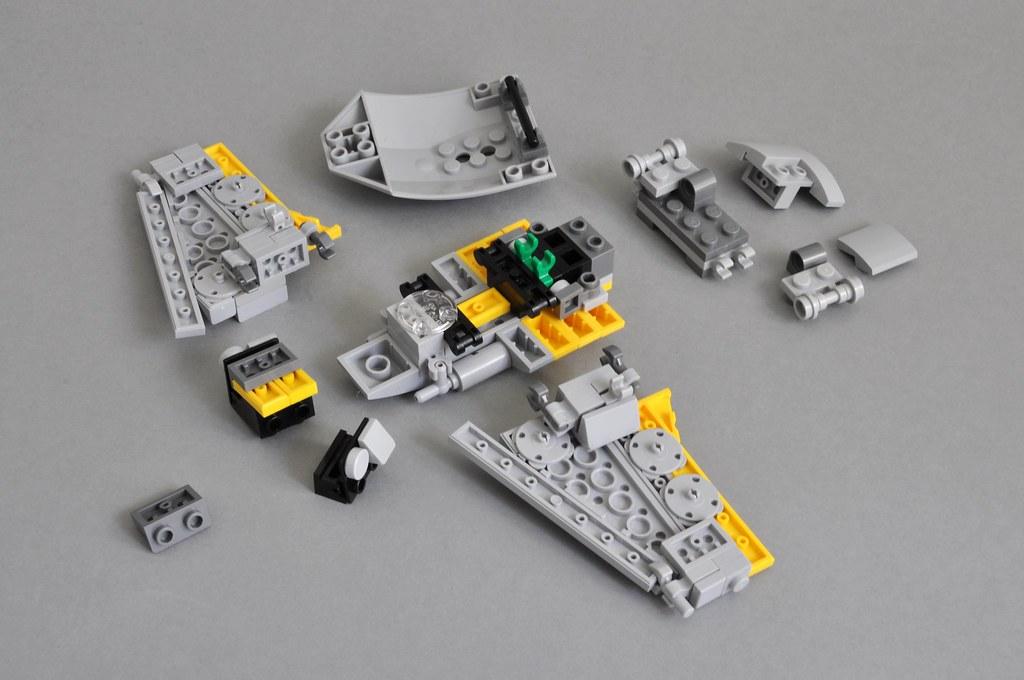 lego star wars tie fighter moc instructions