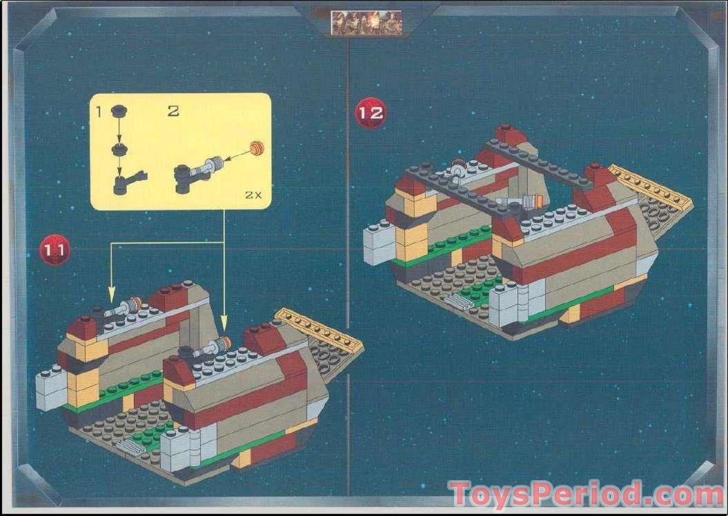 lego trade federation battleship instructions