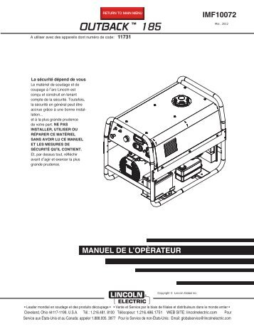 lincoln magnum 100sg spool gun instructions