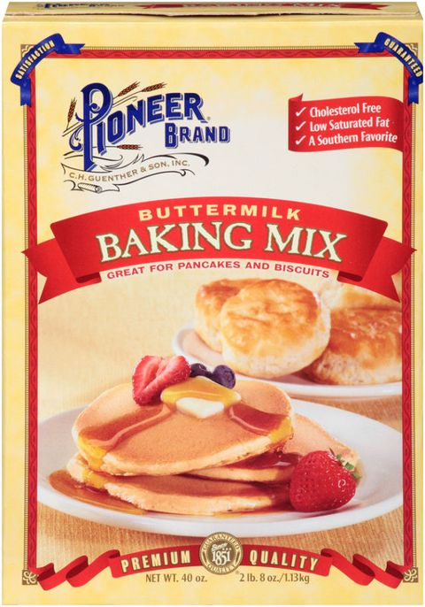 pioneer waffle mix instructions