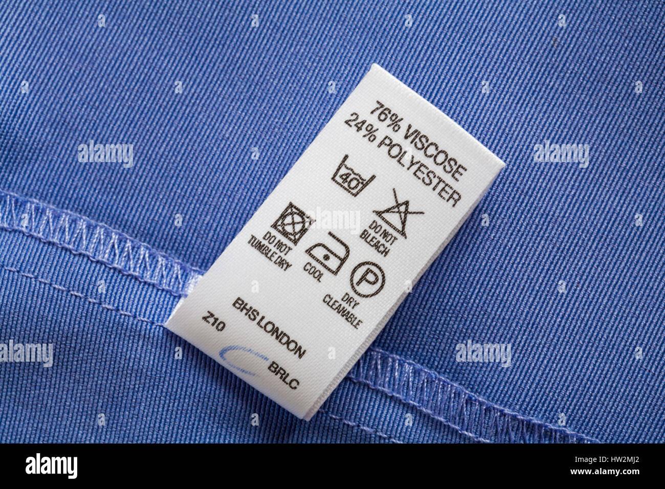 polyester chiffon care instructions