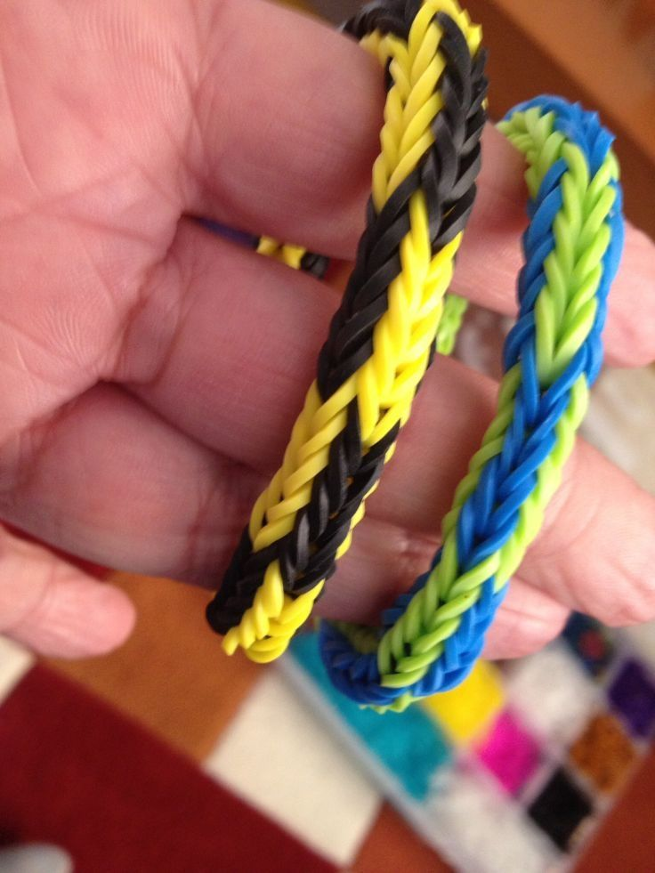 rainbow ladder loom bands instructions
