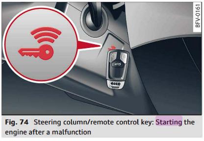 remote start audi a4 fob instructions