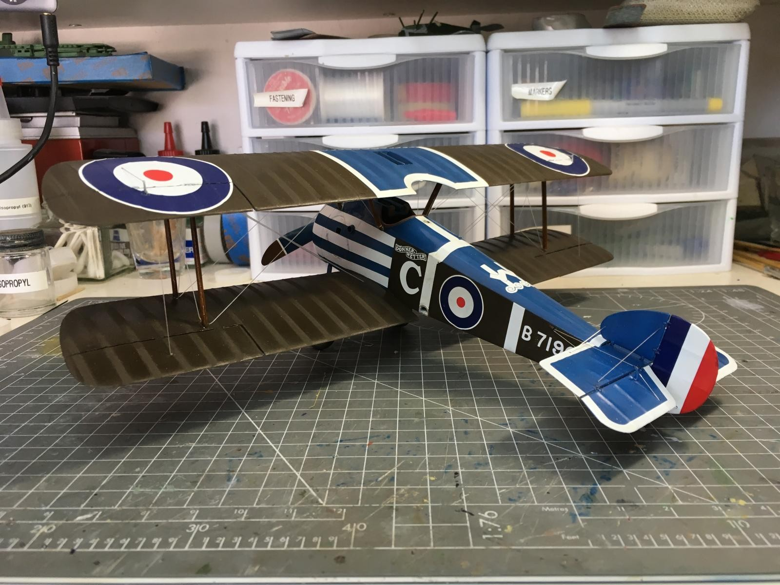 revell 1 28 sopwith camel instructions