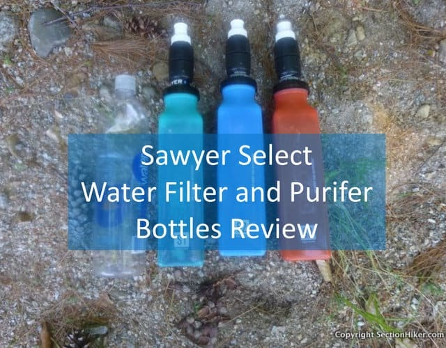 sawyer water filter bottle instructions