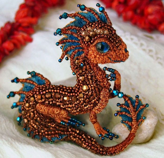 seed bead embroidery instructions