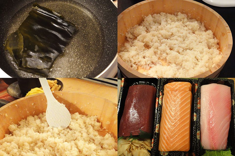 short grain sushi rice stove top cooking instructions