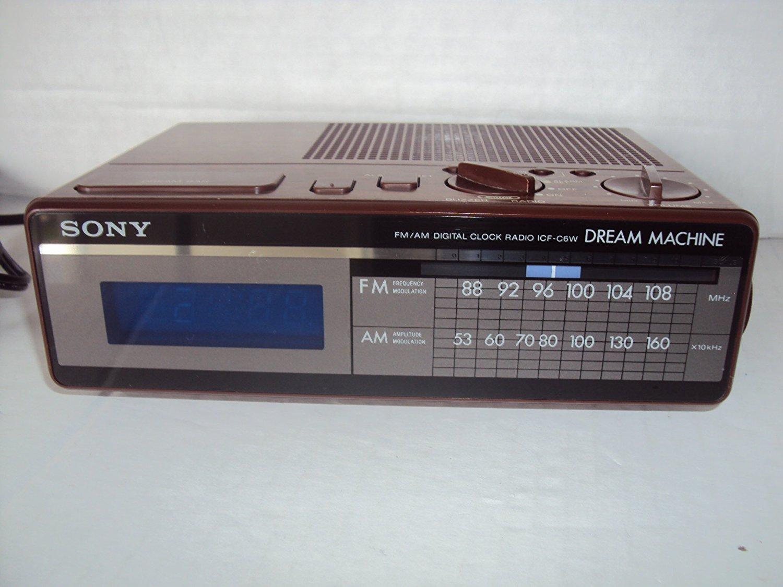 sony dream machine alarm clock icf-c318 instructions