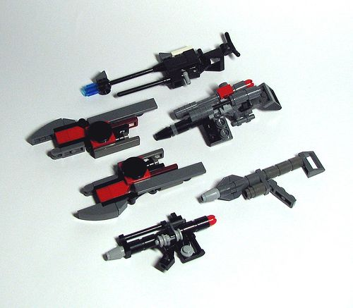 the lego heavy weapons book instructions