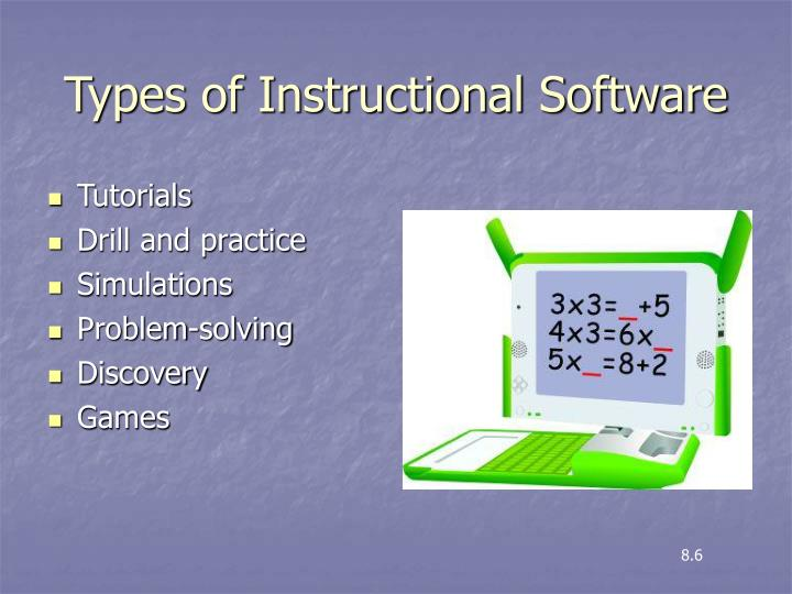 types of instructional technology ppt