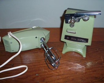vintage oster imperial touch-a-matic can opener chrome instructions